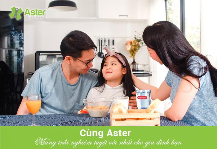Cùng Aster - Mang trải nghiệm tuyệt vời nhất cho gia đình bạn